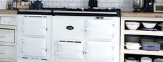 AGA - Every home should have one. The AGA cooker is almost completely recyclable and around 70 per cent of each one is now made from previously used materia Aga Kitchen, Home, Handleless Kitchen, Kitchen Design, Aga Stove, Interior, Kitchen, Kitchen Styling, Aga Cooker