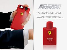 #FragranceCase, the smart way to apply your fragrance. Enjoy your favourite scents! #SFfragrancecase #SFRed