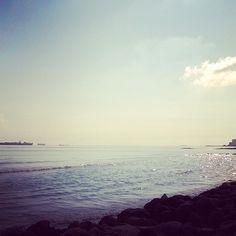 #laOctavaMaravilla la bahía de Veracruz ni más ni menos foto by Daniela_trejo_  #travel  #traveling  #coast  #beautiful  #trip  #beach #veracruz #jarochilandia #mexico #playa #vacaciones #vacations  #life #picoftheday #landscape  #portrait  #clouds