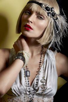Bijoux style des années 20 et 30 les années folles
