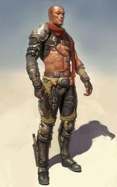 Shadowrun - idea for desert raider