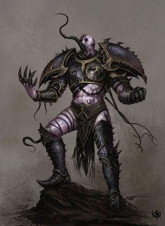 Warhammer 40K - Chaos Marine - Slaneesh