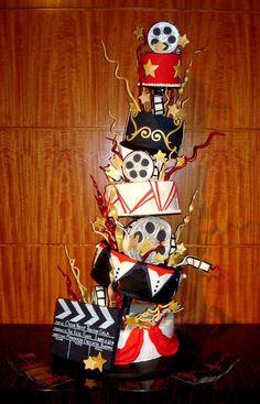that looks like an awesome cake! i want to win an oscar!