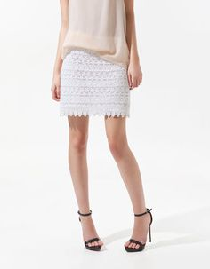 #Zara                     #Skirt                    #GUIPURE #LACE #MINI #SKIRT #Collection #Woman #SALE #ZARA #United #States    GUIPURE LACE MINI SKIRT - Collection - Woman - SALE - ZARA United States                                http://www.seapai.com/product.aspx?PID=1209951