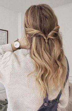 Good Hair Day, Gorgeous Hair, Pretty Hairstyles, Wedding Hairstyles, Hair Looks, New Hair, Hair Inspiration, Curly Hair Styles, Hair Styles Casual
