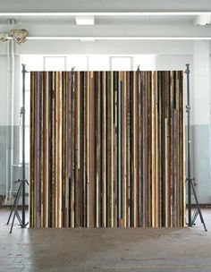 Scrapwood Wallpaper collection by Piet Hein Eek. Available from www.wallpaperantics.com.au