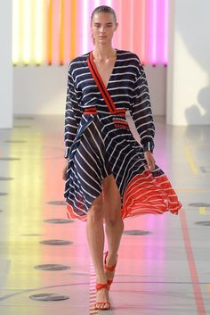 Preen by Thornton Bregazzi Spring 2015 Ready-to-Wear