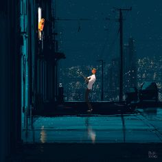 The old fashioned way. #pascalcampion