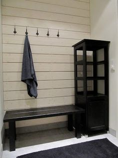 Pool Changing Rooms, Scandinavian Cottage, Love Home, Dressing Room, Entryway, Sweet Home, Relax, Home And Garden, Shelves