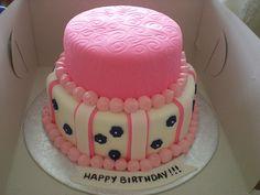 Little Girl's Birthday Cake by the bake shop, via Flickr