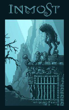 Inmost (metroidvania game WIP) #pixelart#gamedev