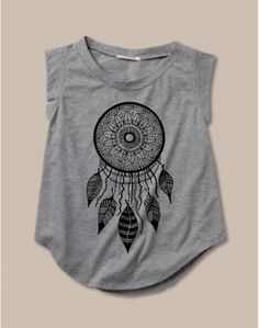 Womens DREAMCATCHER Alternative Apparel- Ladies' Cap Sleeve T-Shirt S M L XL