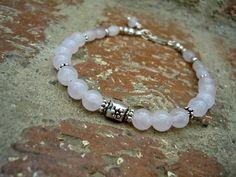 Love & Compassion / Rose Quartz Bracelet / Woman by Syrena56