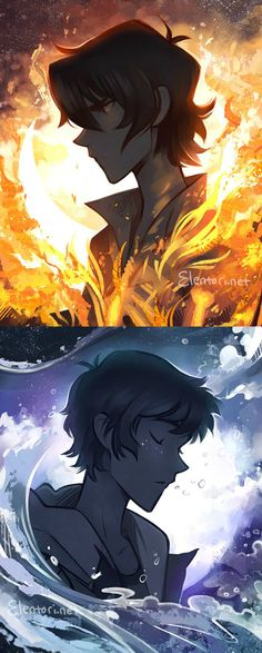 VLD fanart - Of Flames and Crystals Keith / Lance || tbh i have so much weeb on my prof tht i wasn't gonna repin but?!? look?!??!! the art is stunning OMF <3