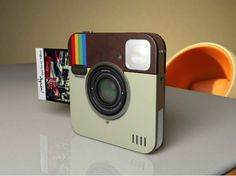 Instagram inspira conceito de câmera fotográfica de verdade