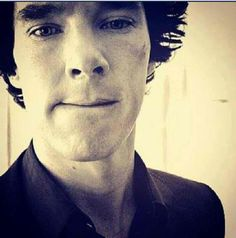 Benedict Cumberbatch biting his lip even though I have offered COUNTLESS times to do that for him.