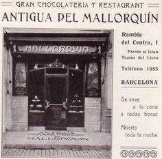 1914.- MALLORQUIN (actual café de la Opera)