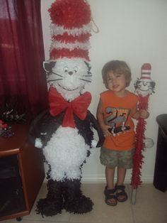 From Cat in the Hat Pinata by keuceda on Etsy, $55.00