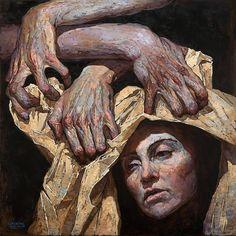 Denis Sarazhin painting