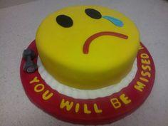 Goodbye Cake :(