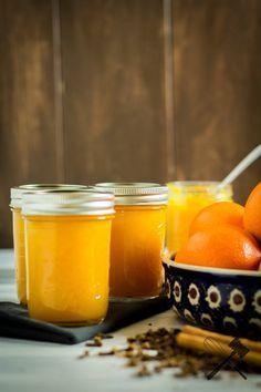 Orangenmarmelade mit Zimt und Nelken (3)