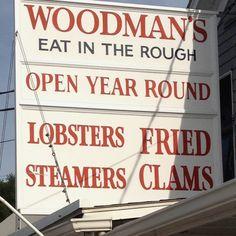 Woodman's in Essex, MA - so many memories
