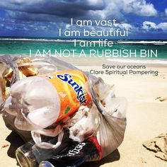 save our oceans take your litter home by spiritual_pampering Beach Clean Up, Clean Ocean, Trash Quotes, Environmental Posters, Sea Quotes, Marine Debris, Planet Love, Save Our Oceans, Marine Conservation