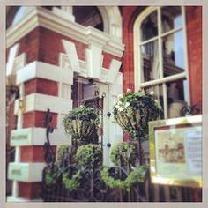 Entrance to The Milestone Hotel London #luxury #boutique #hotels #london  www.5ivestarlondon.com London Instagram, Instagram Posts, London Hotels, Boutique Hotels, Entrance, Star, Luxury, Plants, Entryway