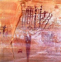 Goblin Valley Petroglyphs