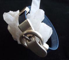 Mens leather bracelet. Mens bracelet.Womens by KUARTZ on Etsy