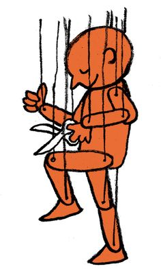 Jean Jullien. Life is not how well you follow others; it's how well you can make your own.
