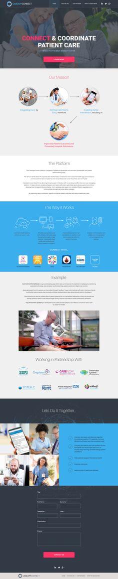 Landing page design Epilepsy Treatment, Patient Portal, Self Monitoring, Improve Communication, Care Worker, Health App, Lets Do It, Landing Page Design, Machine Learning