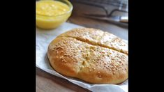 Khobz is a traditional Moroccan bread, served at every meal. Perfect to accompany your tagine or with any soup. #amiraspantry #MoroccanCuisine #MoroccanFoodRecipe #MiddleEastFood #MediterraneanRecipes #BreadRecipe | amiraspantry.com