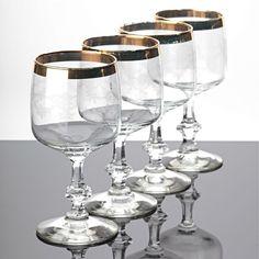 Weißweingläser 6 vintage weingläser spiegelau rüdesheim goldrand weinlaub ätzdekor