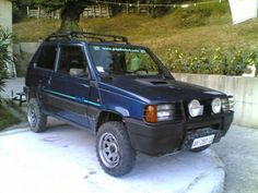 fiat panda 4x4 val d 39 is re panda 4x4 motores og carritos. Black Bedroom Furniture Sets. Home Design Ideas