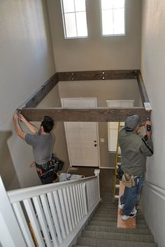 Turn dead space above a staircase into a playroom. | 31 Insanely Clever Remodeling Ideas For Your New Home