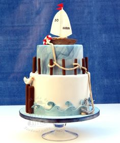 Sail cake By: pippilotta