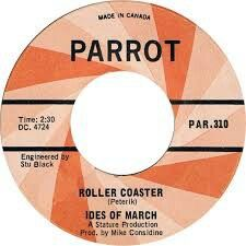 """IDES OF MARCH """"Roller Coaster"""" b/w """"Things Aren't Always What They Seem"""" 1966 Parrot/London. THIS DOUBLE A SIDE 45 IS A DREAM! Makes me feel like I do when I listen to P.F. Sloan songs or THE BARRACUDAS. This Chigago Garage - folk band rules!!! How could they be the same band that might be responsible for HORN ROCK..with """"I'm Your Vehicle"""" or whatever.. Sad, but this 45 is perfect...They have a 45 in 1965 under the name Shon-Dells  I am still trying to find. They also do """"Sha La La Lee""""( yes…"""