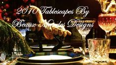 2010 World Tablescapes