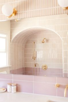 This Bathroom Reno Will Make You Want a Shower (and Toilet!) Arch