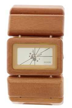 I'll have a wooden watch one day! Nixon- Vega light wood