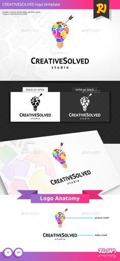 Creative Solved Logo
