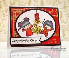 Cute Card for Chinese New Year's | Gung Hay Fat Choy! | @ablogcalledwanda.com