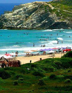 Playa Parguito, Isla de Margarita, Venezuela, one of many beautiful beaches i've been to..<3