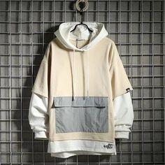Stylish Hoodies, Cheap Hoodies, Oversized Hoodie Outfit, Oversized Clothing, Hooded Sweatshirts, Korean Fashion, Street Wear, Men Casual, Hip Hop