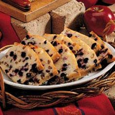 Lemon Blueberry Bread Recipe - I made this with the following changes - I accidentally used 2 cups of blueberries and I didn't have any lemon's to zest so I used about a teaspoon of pure lemon extract.  It was delicious!