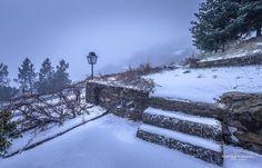 """""""Winter Steps"""" #portugal #portugalalive #portugalframes #portugaldenorteasul #portugal_em_fotos #portugal_lovers #portugal_de_sonho #serradaestrela #snow #winter #cold #steps"""