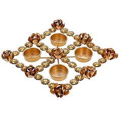 Indische Dekoration Geschenke Teelichter Kerze Halter Blumenarrangements ShalinIndia http://www.amazon.de/dp/B00N911MYK/ref=cm_sw_r_pi_dp_upfXvb0MBH392