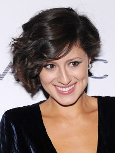 Short+Curly+Hairstyles+For+Women+Over+50 | Karla Deras Haircuts: Funky Short Tousled Hairstyles/Getty Images