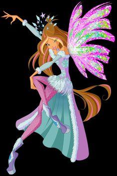 Winx Club, Les Winx, Flora Winx, Arte Disney, Winter Wonderland, Bloom, Fairy, Princess Zelda, Comics